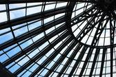 Modern glass roof — Stockfoto