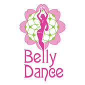 Belly dance — Stock Vector