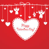 Happy-Valentine — Stock Vector