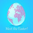 Meet-the-Easter! — Stock Vector