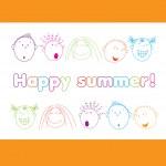 Happy-summer! — Stock Vector