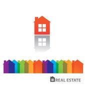 Real-estate-home — Stock Vector