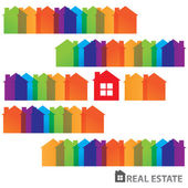 Real-estate-template — Stock Vector