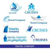 Travel-company — Stock Vector