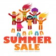 Summer sale — Stock Vector #29999653