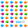 Sea-pattern — Stock Photo