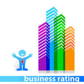 Business-rating — Wektor stockowy