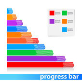 Progress-bar — Stock Vector