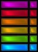 Neon plaque — Stock Photo