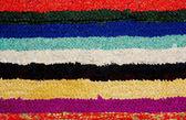 Handmade rug. — Stock Photo