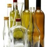 Empty wine bottles. — Stock Photo #23364450