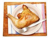 Fried chicken. — Stock Photo