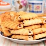 Постер, плакат: Croissants and biscuits