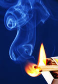 Burning matches. — Stock Photo