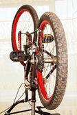 Bicycle repair. — Stock Photo