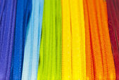 Rainbow ribbons — Stock Photo