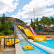 Water park slides — Stock Photo #27457057