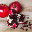 Stock Photo: Red pomegranate fruit
