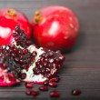 Foto Stock: Pomegranate fruit