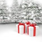 Boże Narodzenie - prezenty - podarunki — Stock Photo