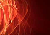 Abstract dark red background with flames — Stock Photo
