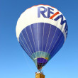 Stock Photo: Traditional launch of hot air balloon