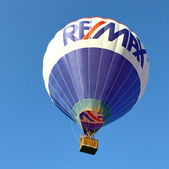 The traditional launch of the hot air balloon — Stock Photo