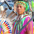 Native American Indian tribal group — Stock Photo