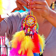 Colorful dreamcatchers — Stock fotografie