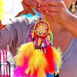 Stock Photo: Colorful dreamcatchers