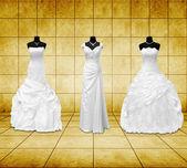 Suknia ślubna — Zdjęcie stockowe