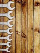 Schraubenschlüssel — Stockfoto