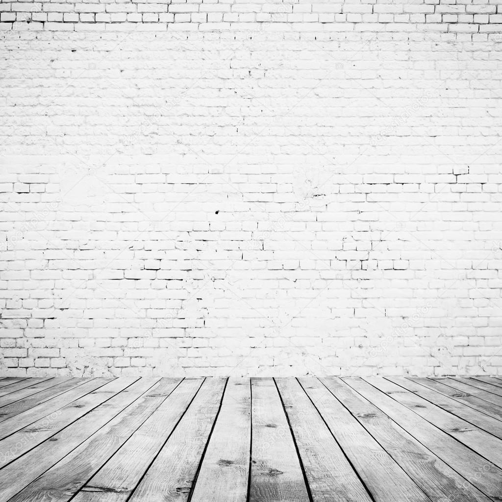 墙壁和木地板背景