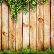 Stock Photo: Wood fence background