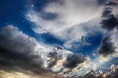 Ciel orageux — Photo