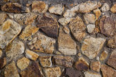 Old cracked brick wall background — Stock Photo