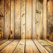 Intérieur de planches en bois — Photo