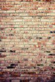 Old grunge brick wall background — Stockfoto