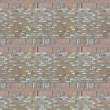 Royalty-Free Stock Photo: Vintage light purple color brick wall background. Brick Textures