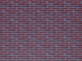 Red brick wall background. Brick Textures Series. — Stock Photo
