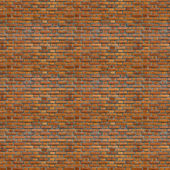Rough Red brick wall background. Brick Textures Series. — Stock Photo