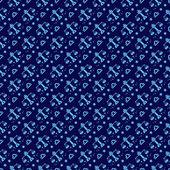 Diseño del patrón de la constelación de libra. serie de diseño del patrón del zodiaco — Vector de stock