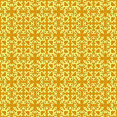 Yellow Colors Sarasa Style Pattern design. Original Pattern and — 图库矢量图片