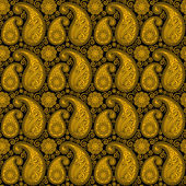 Various Colors of Damask Style Pattern design. Original Pattern — Stock vektor