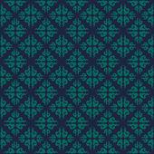 Blaue Farben Wolken Muster. Koreanische traditionelle Muster Design se — Stockvektor