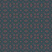 Träkol färger jugend stil anläggning mönster design. ursprungliga — Stockvektor