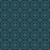 Bluish Green Colors Square grid Pattern design. Original Pattern — Stock Vector