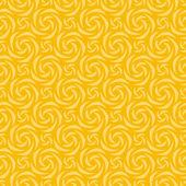 Gula färger lyckohjul mönstret. koreanska traditionella mönster desig — Stockvektor
