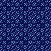 Vågen konstellation mönster design. zodiac mönster design serie — Stockvektor