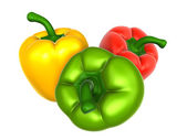 Bell pepper with variety. Foods and Dishes Series. — Stock Photo